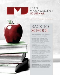 201302 Lean Management Journal Cover