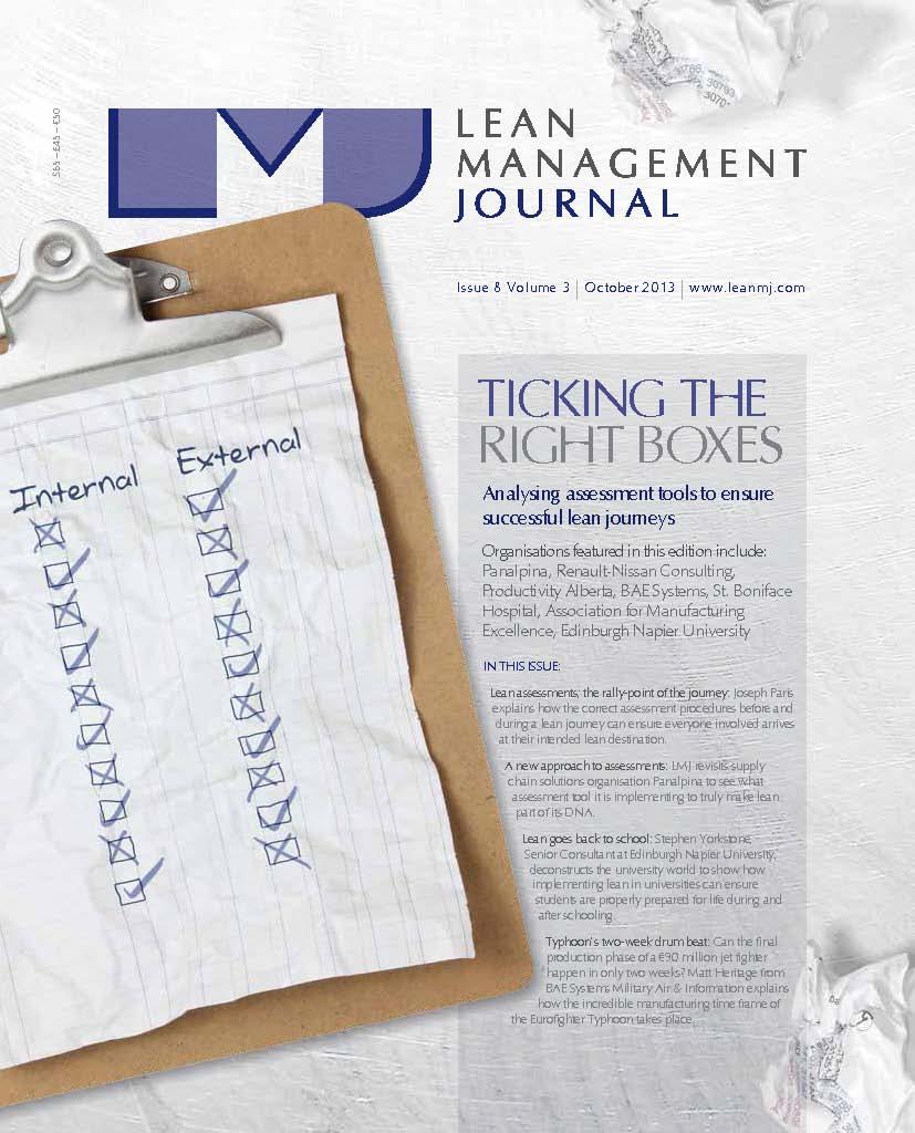 Lean Management Journal - October 2013