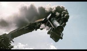 Train off-the-rails