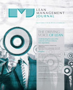 Cover of Lean Management Journal Dec/Jan 2014