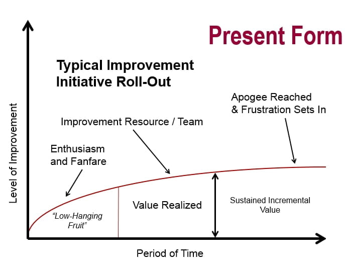 Changing a Continuous Improvement Initiative into a Global Program