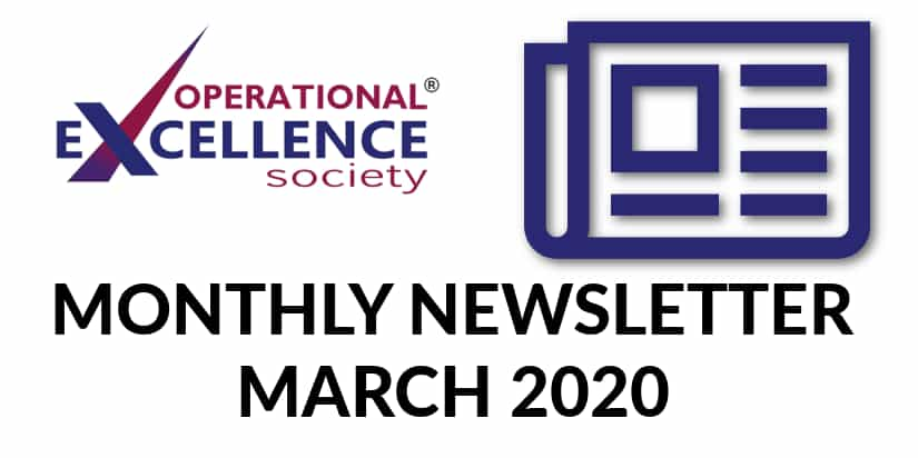 Operational Excellence Newsletter March 2020
