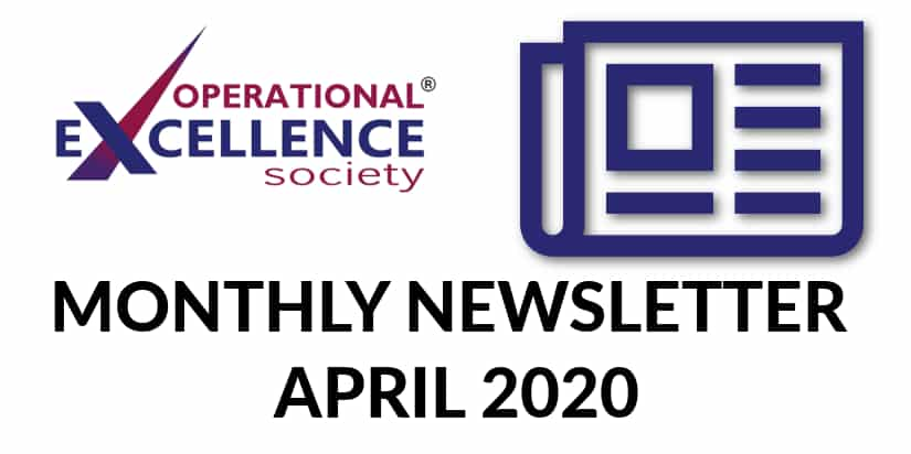 Operational Excellence Newsletter April 2020