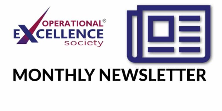 2019-October: Operational Excellence by Design eNewsletter