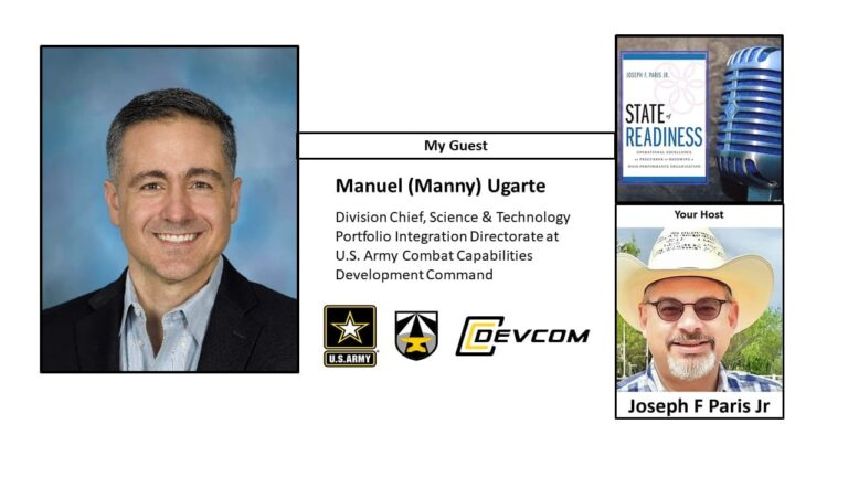 State of Readiness: Manuel Ugarte; US Army Combat Capabilities Development Command (CCDC)